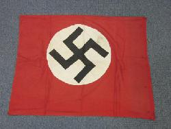 click to see Sale FL-205, WWII German Nazi Party Podium Banner