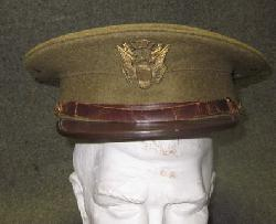 click to see UH-341, 1920�s-1930�s US Reserve Officers Training Corps (ROTC) Visor Cap