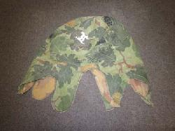 click to see uf748-vietnam-war-us-camoflage-helmet-cover-with-period-grafitti