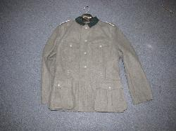 click to see GU-305, REPRODUCTION WWII German Infantry Enlisted Tunic and Trousers.