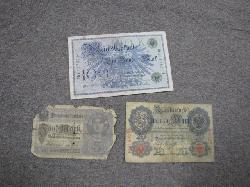 click to see GM-543, WWI German Currency Set
