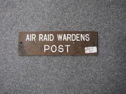 click to see av713-wwii-british-bakelite-door-sign