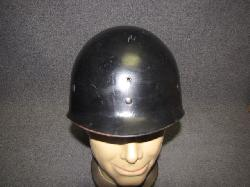 click to see SALE UH-475, Korean War US Army  5th Army Helmet Liner