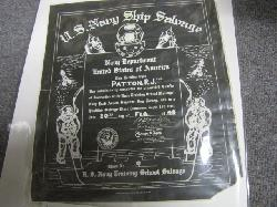 click to see um275-post-wwii-usn-divers-certificate-and-photos