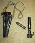 wwii-german-mauser-rifle-grenade-launcher-pouch-and-antipersonnel-deactivated-grenade-not-for-sale-in-california
