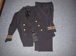 click to see SALE UU-595, WWII USN Lt. Cmdr Uniform