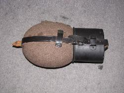 click to see GF-356, Early WWII German Canteen with Cup