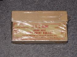 click to see OR-241, 1920s Box of .30-.40 Krag Hunting Ammo