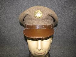 click to see uh500-wwii-us-army-enlistedmans-visor-cap