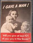 click to see UWP-0004 WWII US War Bond poster