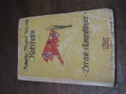 click to see GXB-0001 WWI German Manfred von Richtofen � �The Red Baron� Der Rote Kampfflierger first edition 1917 book