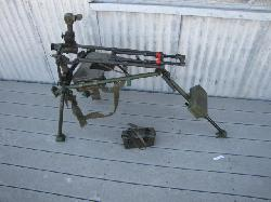 click to see GYG-0004, Post WWII German MG3 tripod for MG42