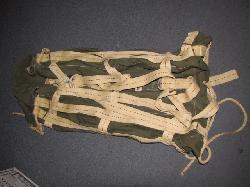 click to see UWA-0014, WWII US Army A4 Aerial Delivery Container 1/2 of the bag (also called a Parapack or Paracaisson) TYPICAL EXAMPLE SHOWN