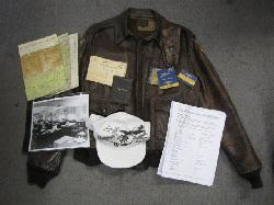click to see uwa0015-wwii-us-army-air-force-named-15th-combat-cargo-squadron-cbi-a2-jacket-and-accessories