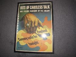 click to see uwp0027-wwii-us-war-poster-bits-of-careless-talk-are-pieced-together-by-the-enemy-framed