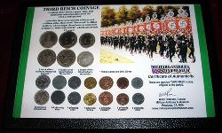 click to see GM-021. Full set of WWII Nazi Coins.