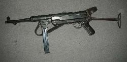 fr 222 ww ii german mp 40 submachine gun  demilled nonfiring